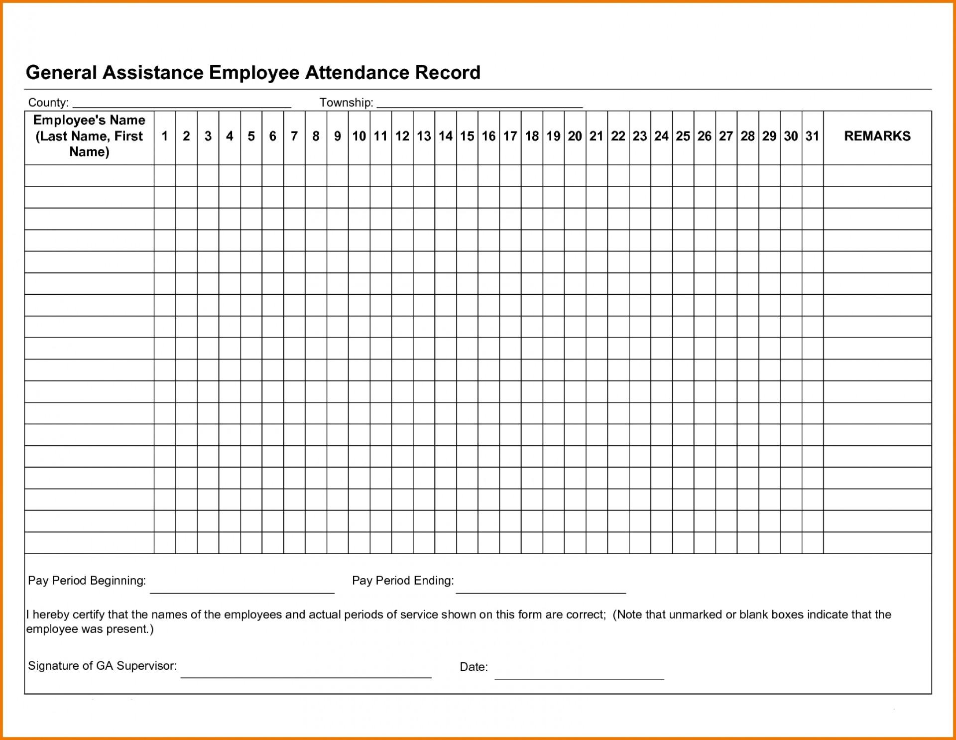 002 Employee Attendance Record Template Excel Maxresdefault