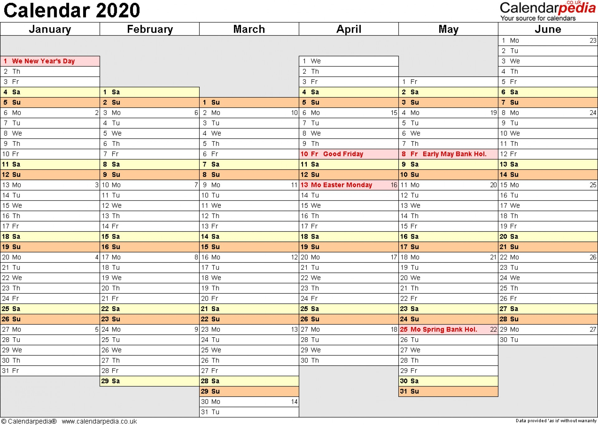 003 Yearly Template Ideas Free Excel Formidable 2020