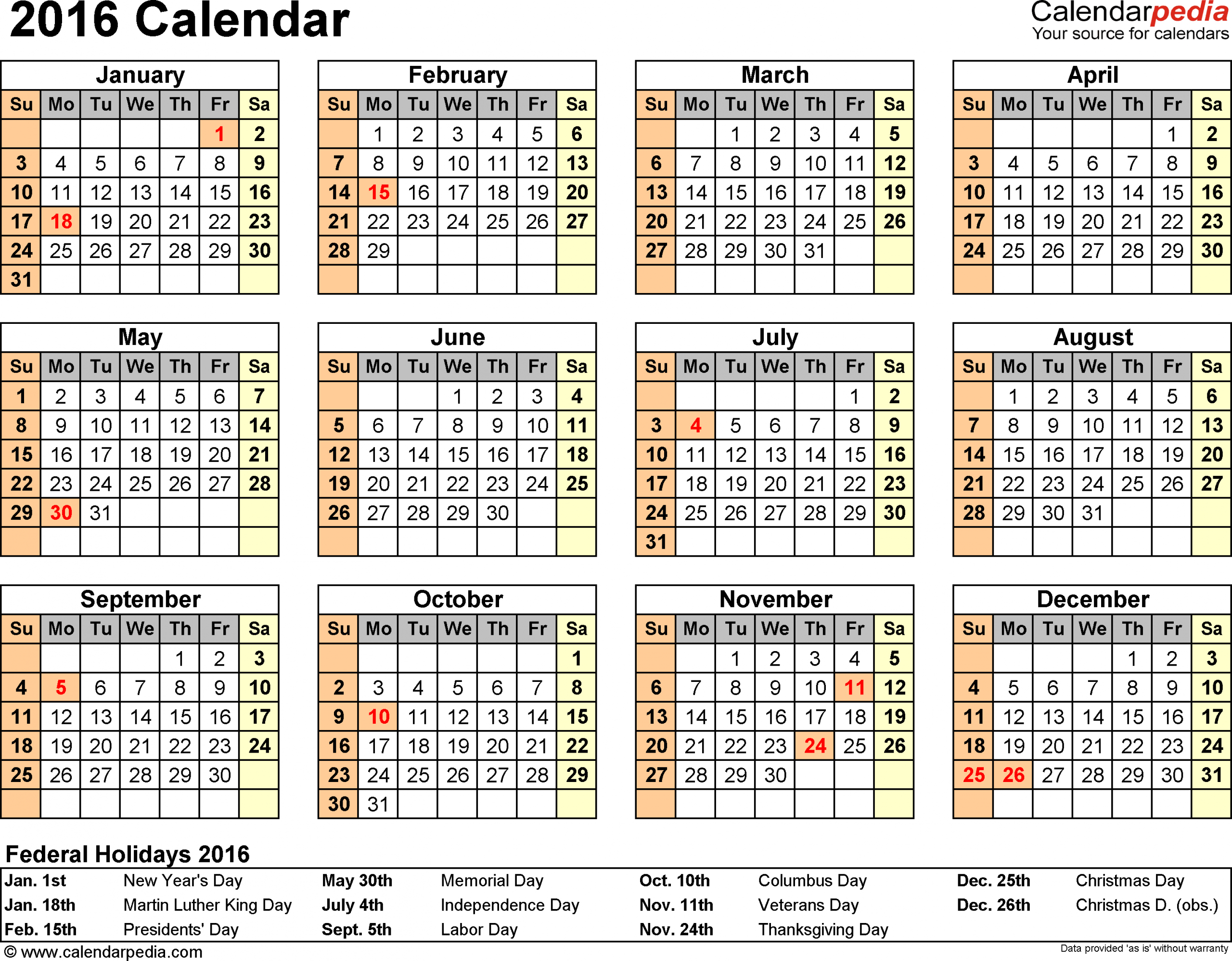 004 Calendar Template Ideas Shocking Printable 2016 Free