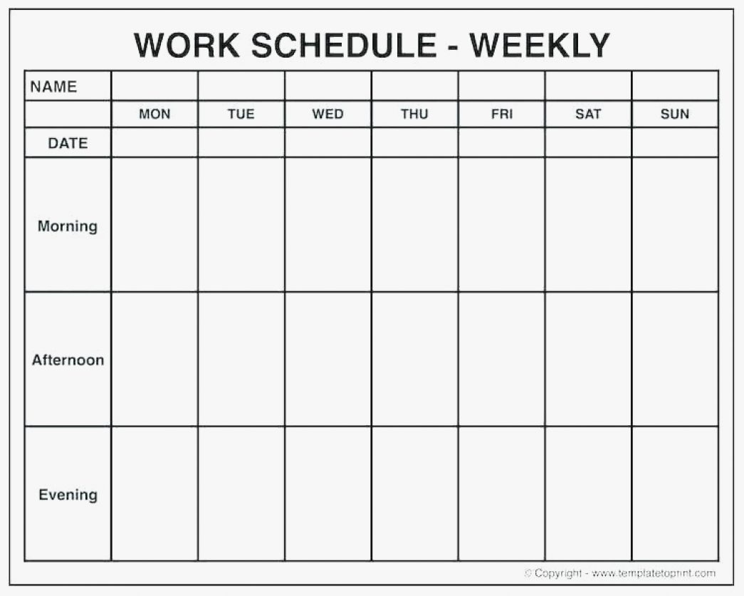 009 Weekly Calendar Template With Times One Week Excel