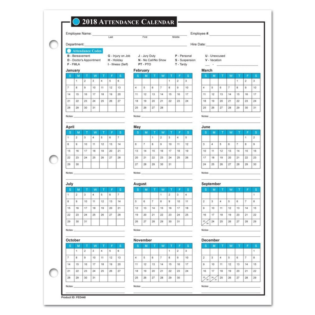 042 Template Ideas Excel Attendance Tracker New Employee
