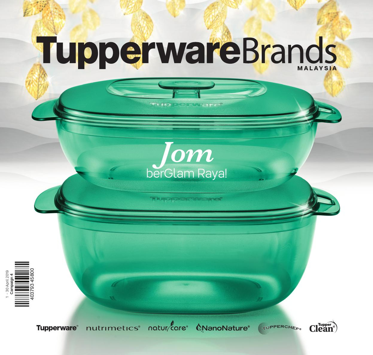 1 - 30 April 2019 | Tupperware Plus