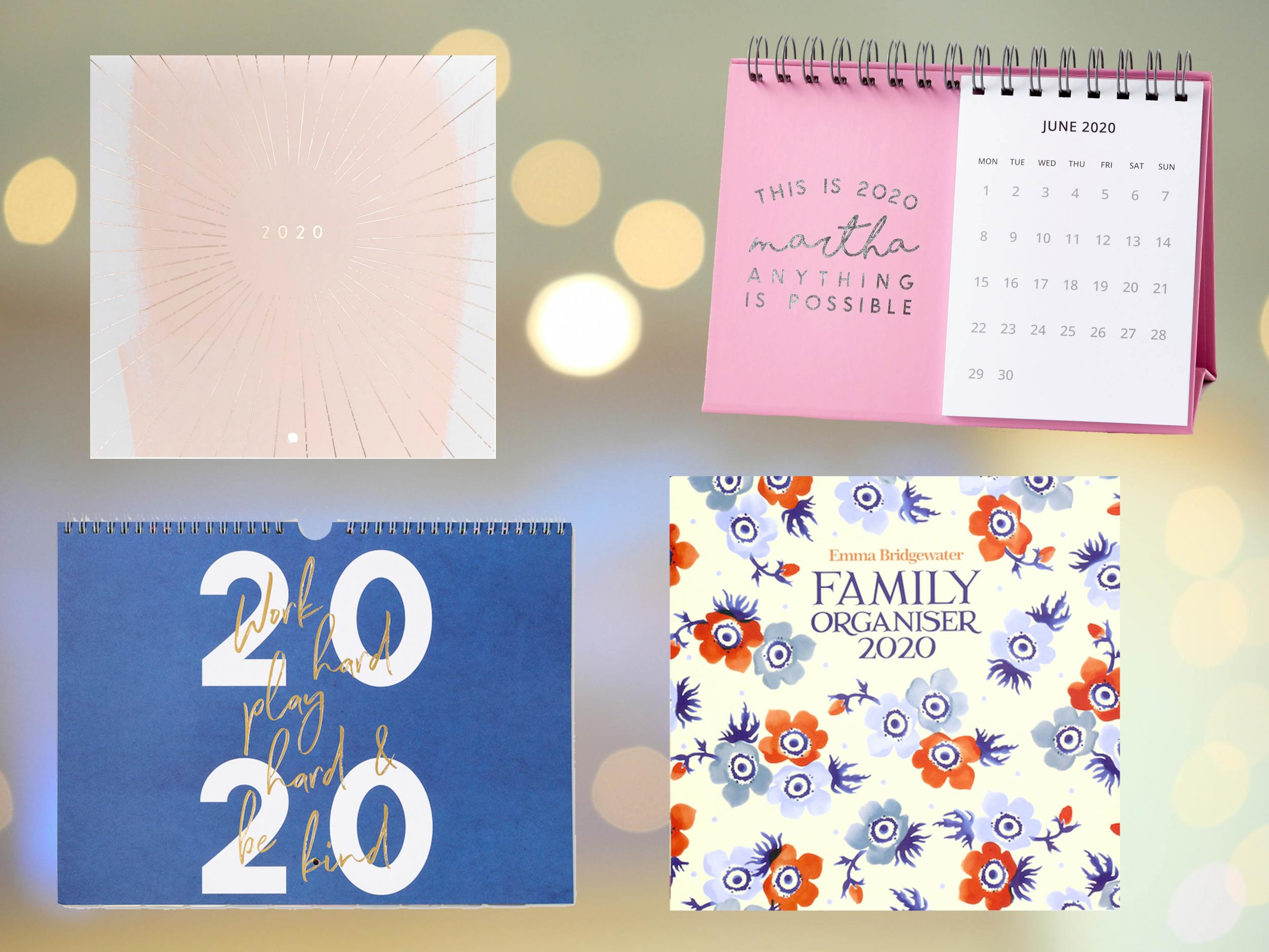 10 Best 2020 Calendars To Inspire A More Organised You In