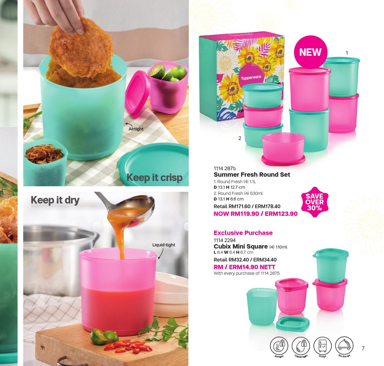 10 Feb - 28 Feb 2019 | Tupperware Plus