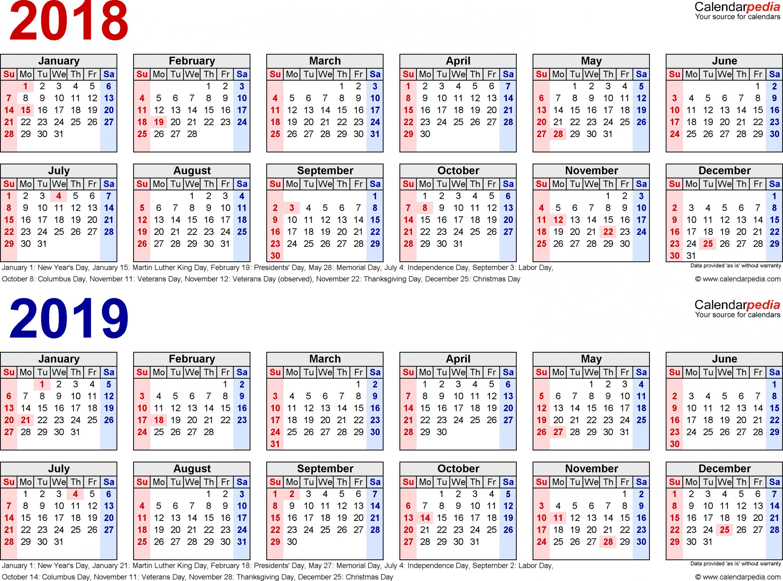 2 Year Calendars - Togo.wpart.co
