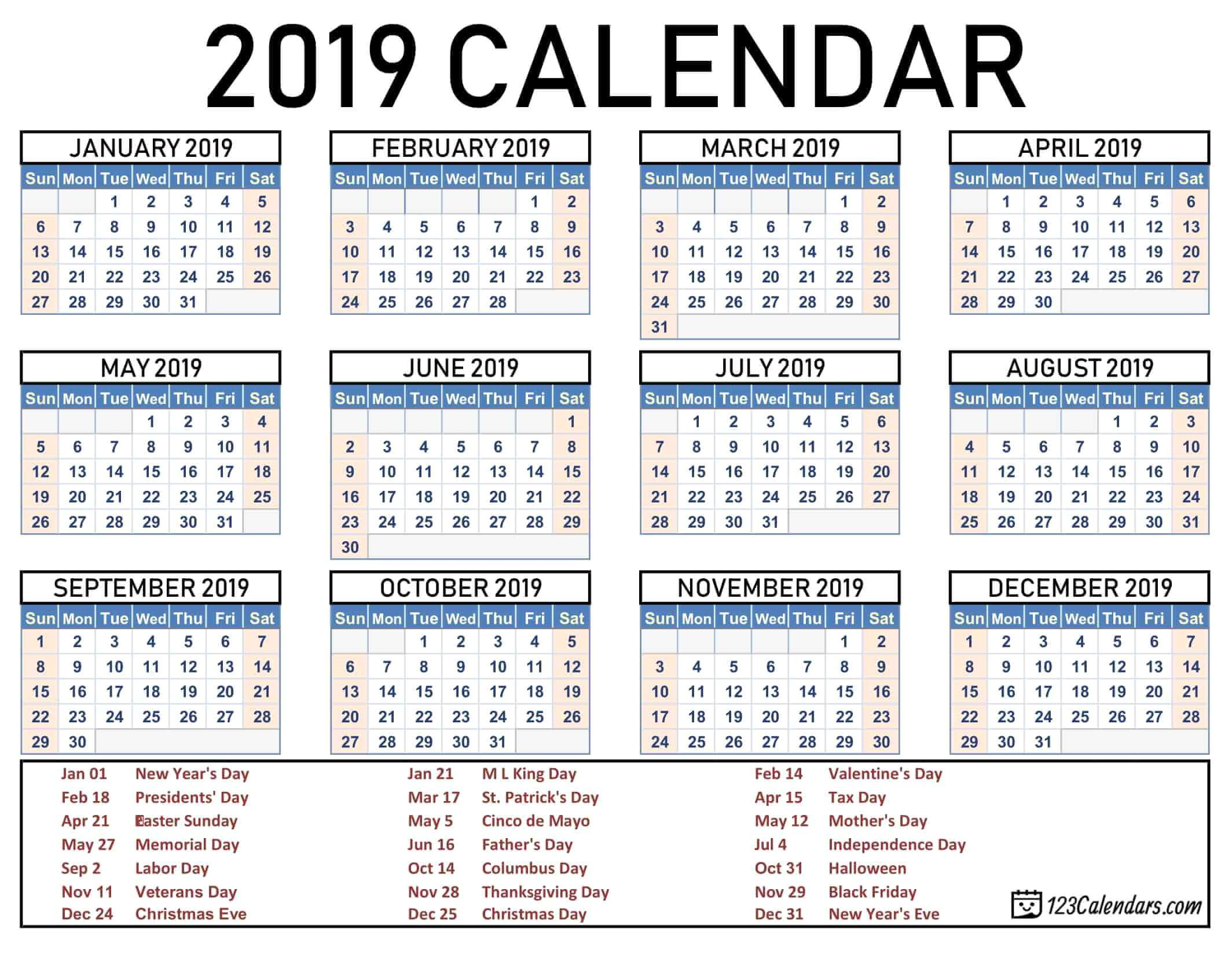 2015 And 2020 School Calendar Printable - Togo.wpart.co