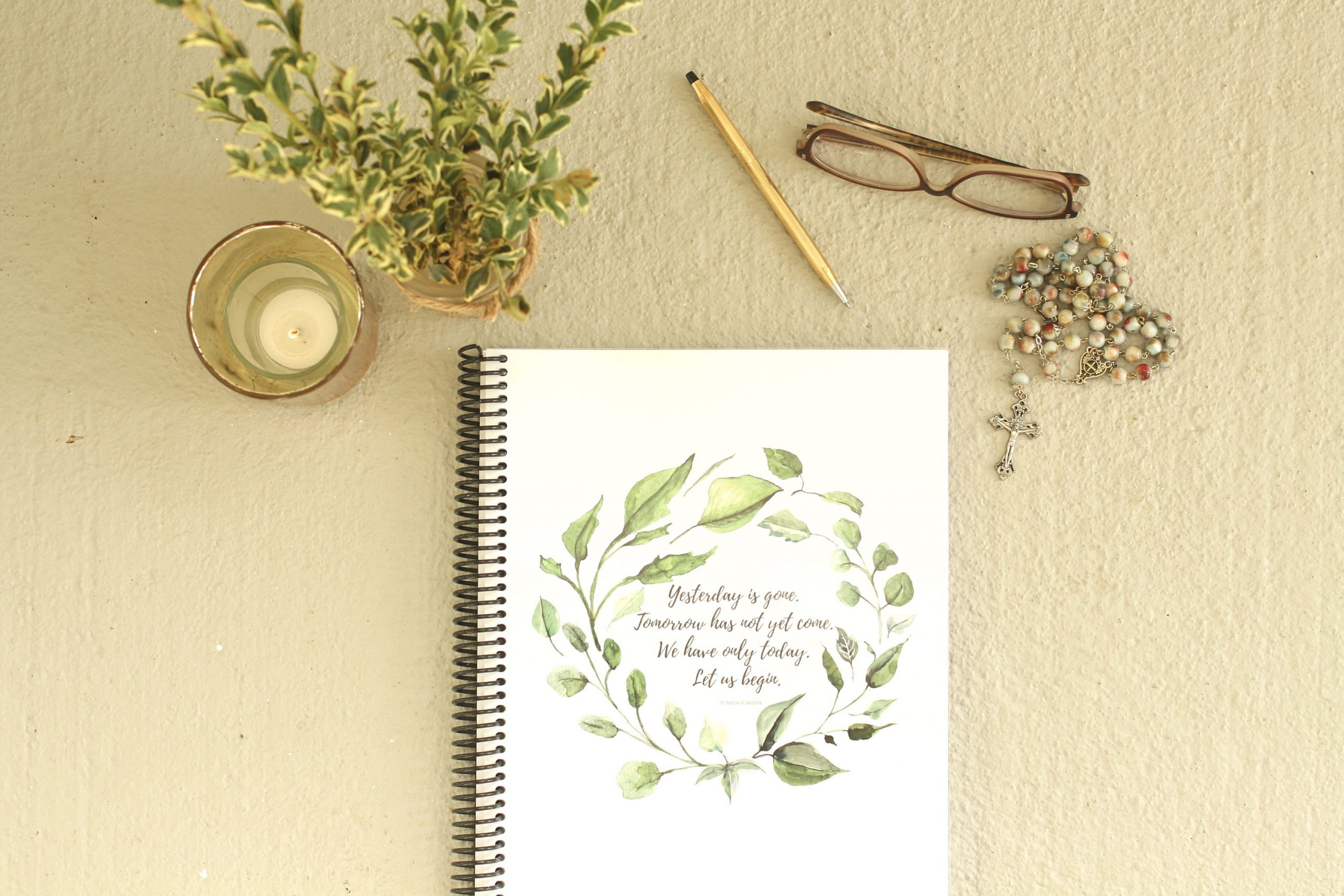 2019 -2020 Catholic Planner: Catholic Liturgical Calendar / Homeschool  Planner / Daily, Weekly, Monthly Planner / Catholic Saints And Year
