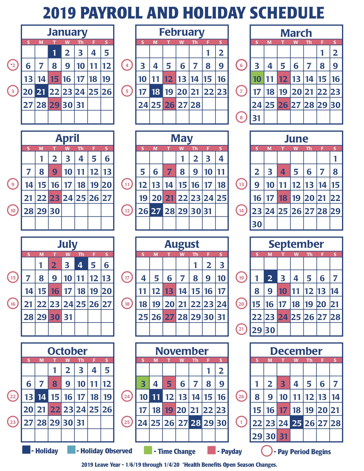 2019 Faa Payroll Calendar – Faa Managers Association