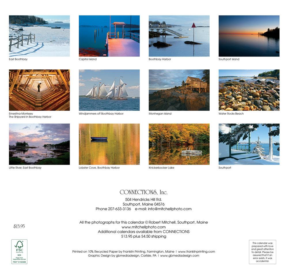 2020 Around Boothbay Harbor Calendar — Robert Mitchell Photography