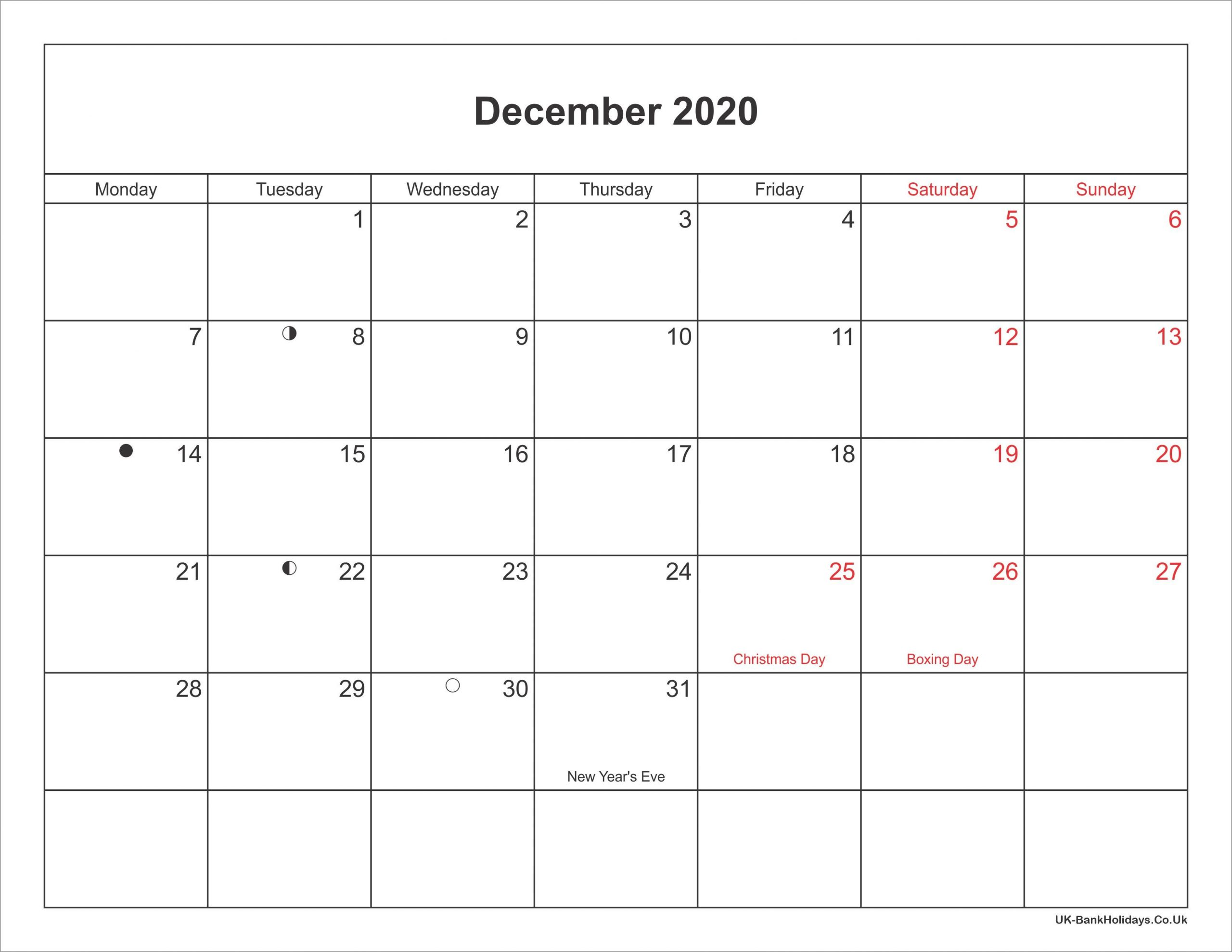 2020 Printable Calendars With Us Holidays – Welcome To Be