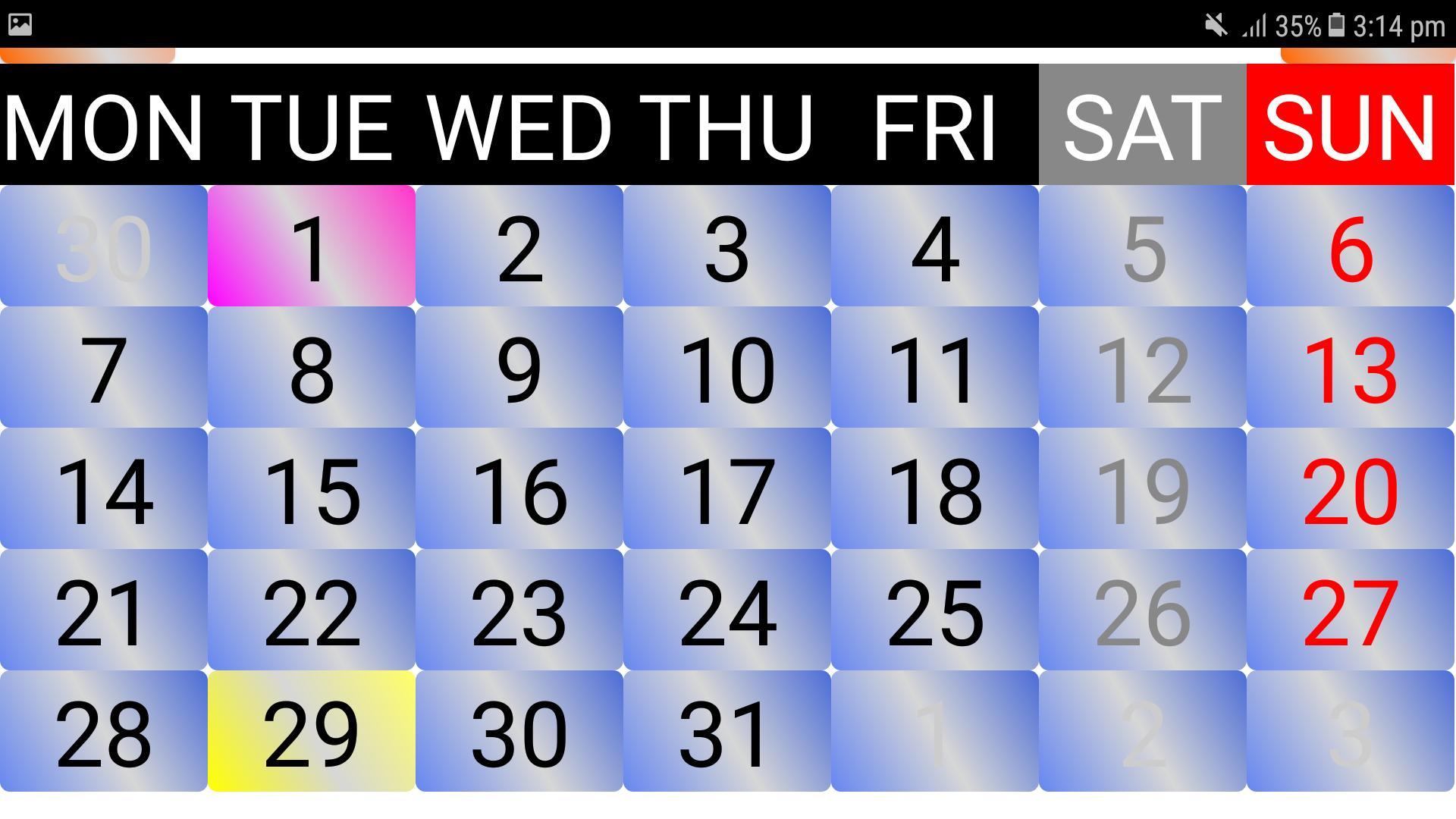 2020 Sinhala Calendar Для Андроид - Скачать Apk