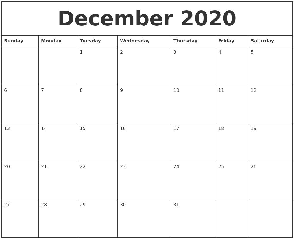 2020 Thru 2020 Calendar - Togo.wpart.co