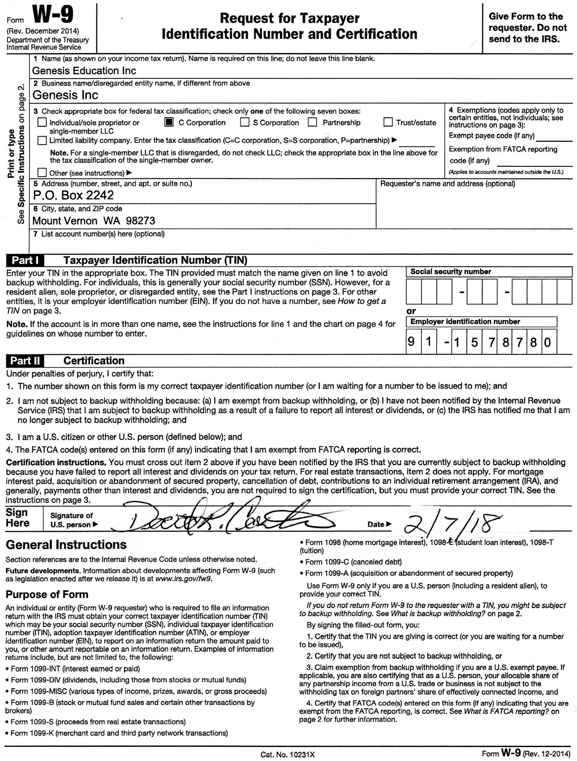 30 2019 W9 Printable Form | Andaluzseattle Template Example