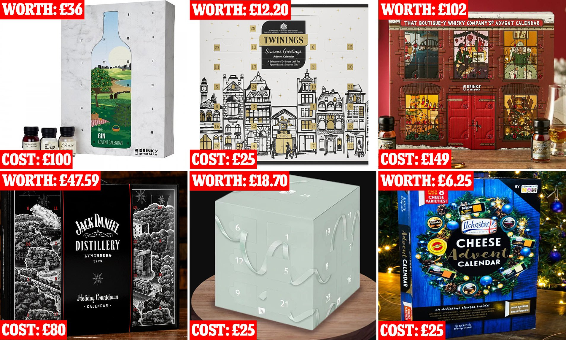 Advent Calendars Cost Up To Four Times More Than Contents