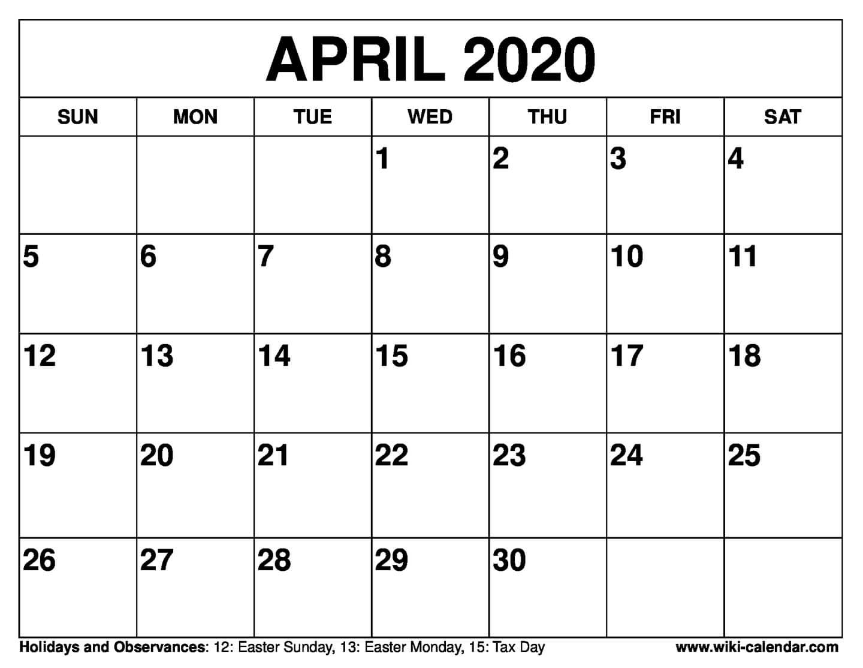 April Printable - Togo.wpart.co