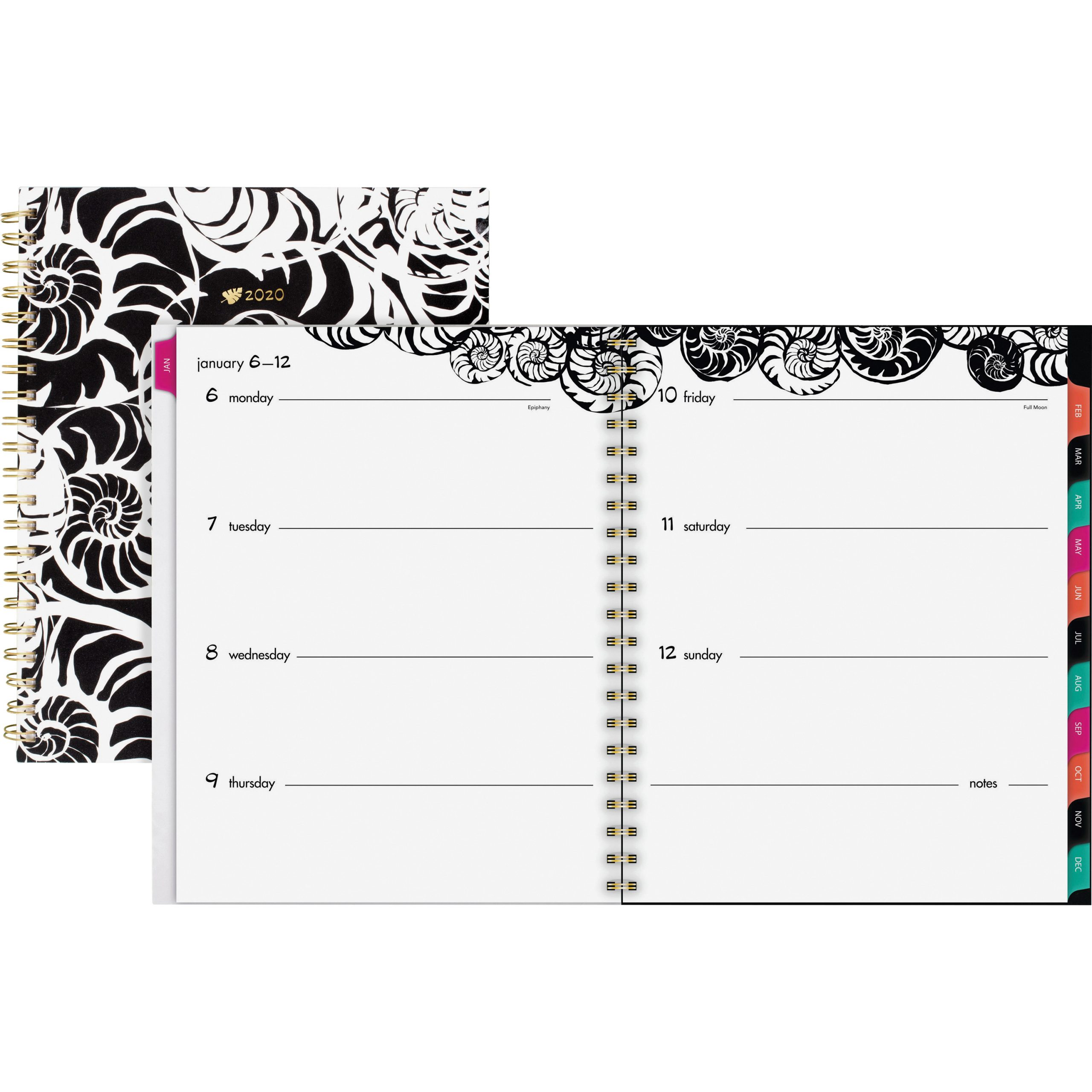 At-A-Glance Jane Dixon Nautilus Weekly/monthly Planner