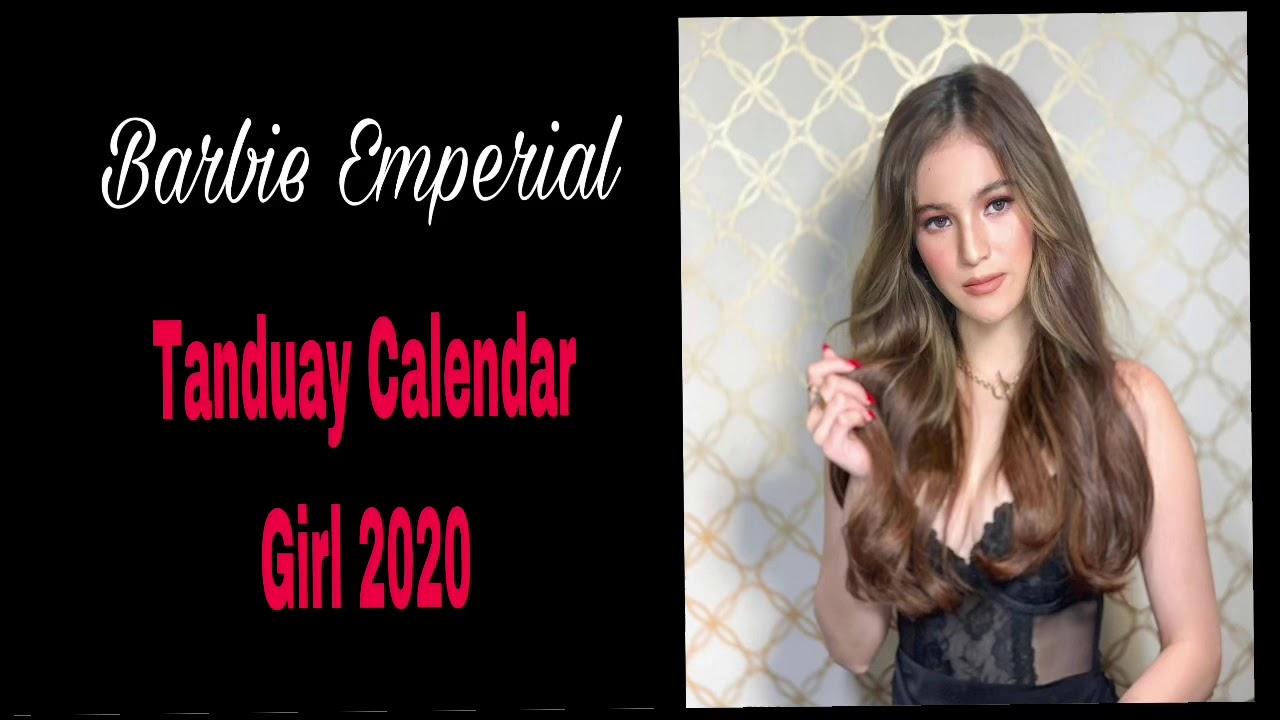 Barbie Emperial Tanduay Calendar Girl 2020