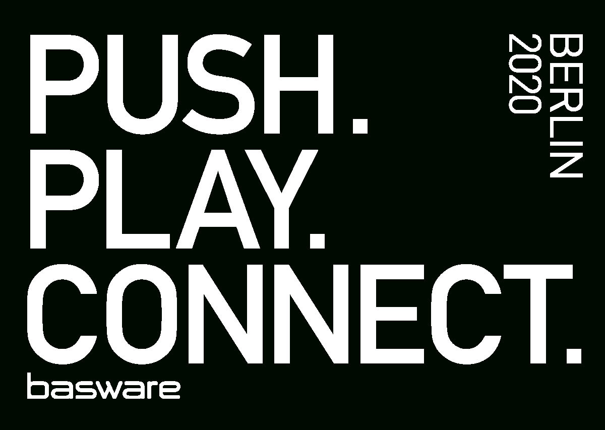 Basware Push. Play. Connect. 2020 Berlin