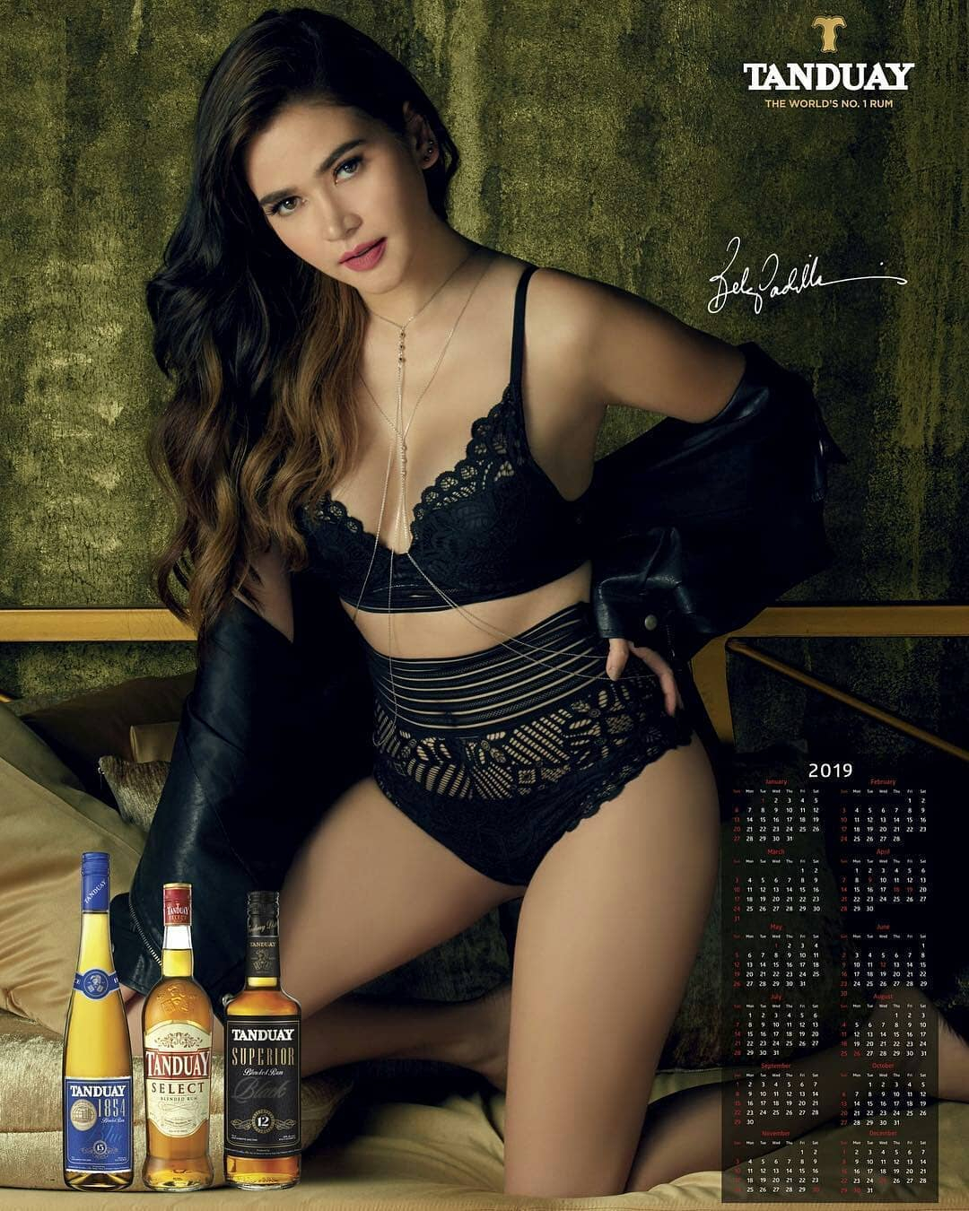 Bela Padilla Tanduay Calendar Girl 2019 | Holiday Download