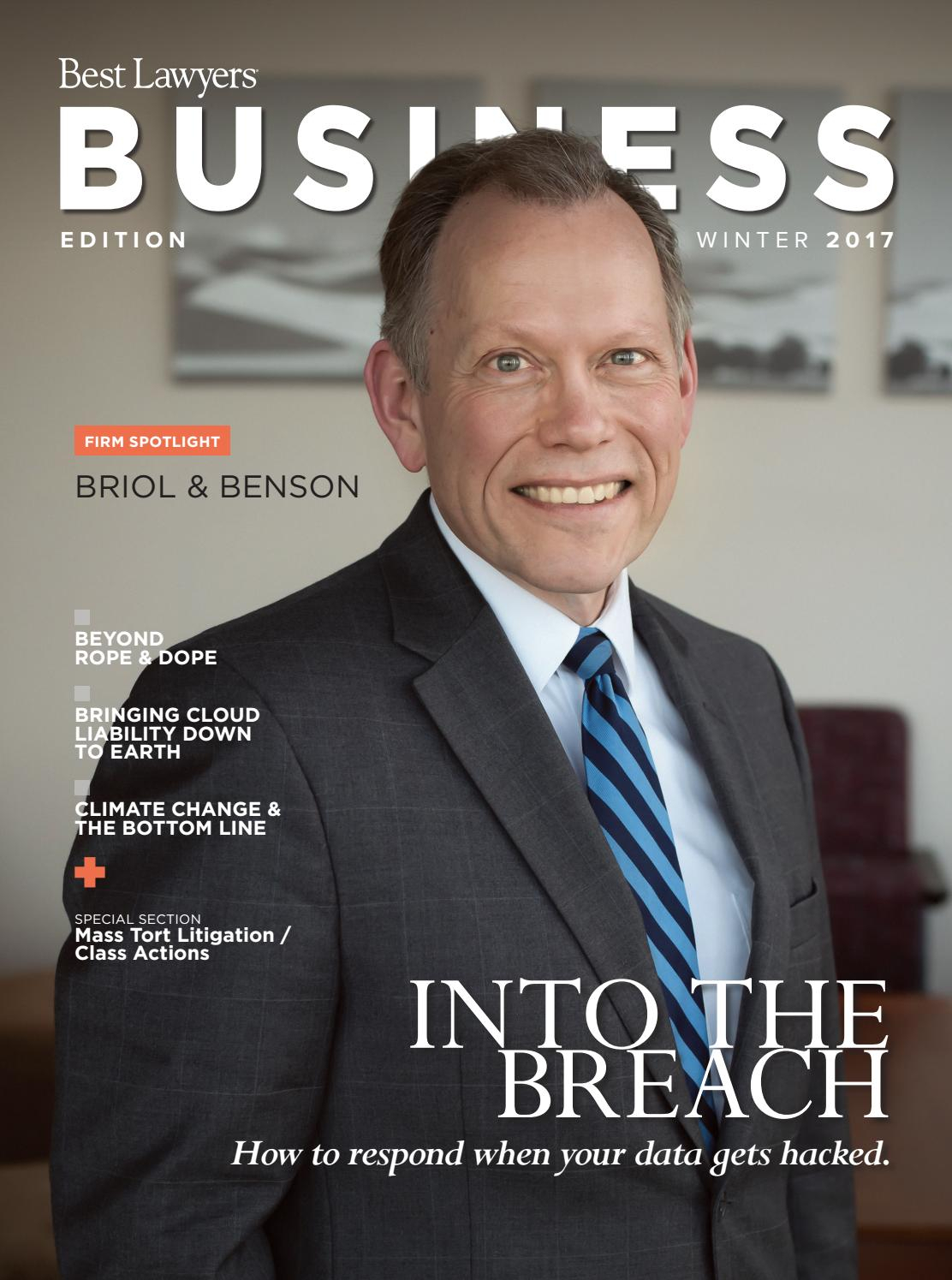 Best Lawyers Winter Business Edition 2017 By Best Lawyers