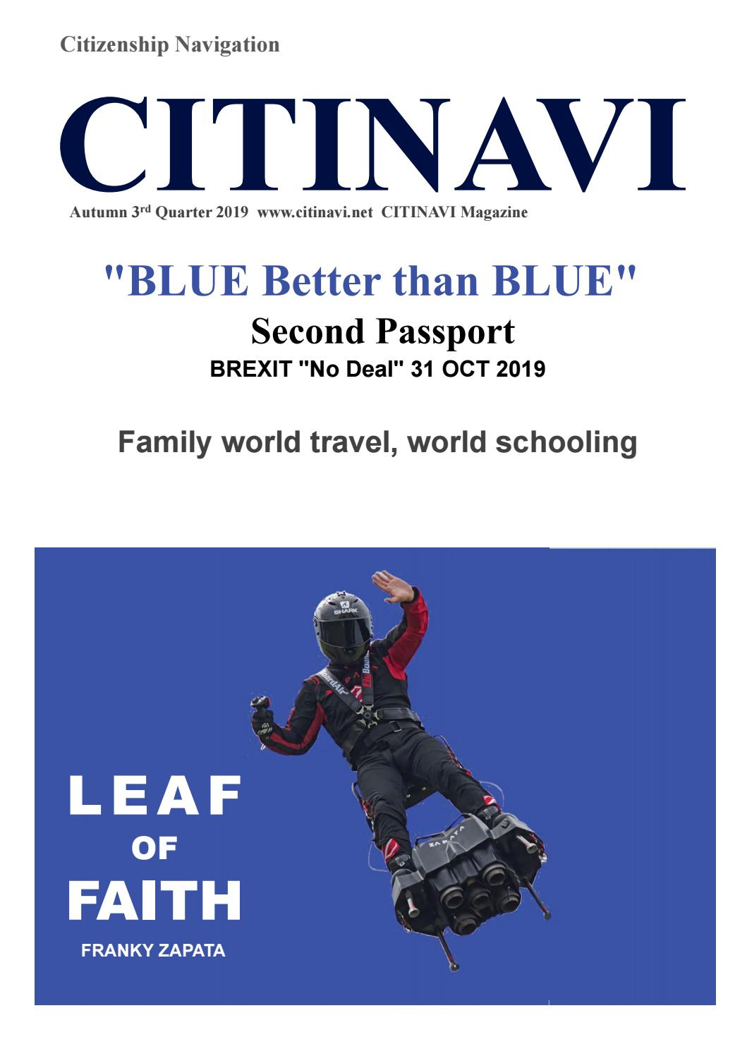 "Blue Better Than Blue"" Second Passport By Citinavi Kwon - Issuu"