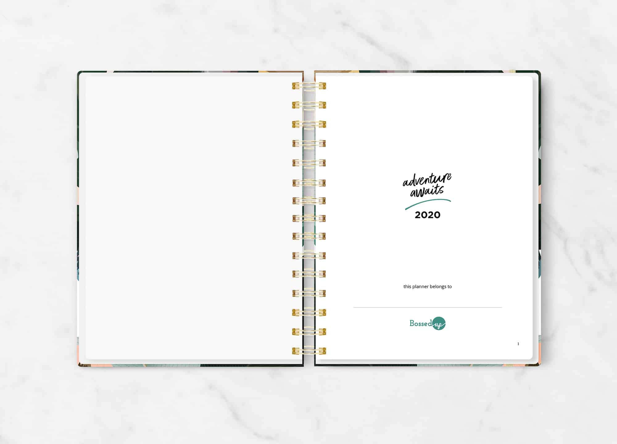 Bossed Up Lifetracker Planner | Bossed Up