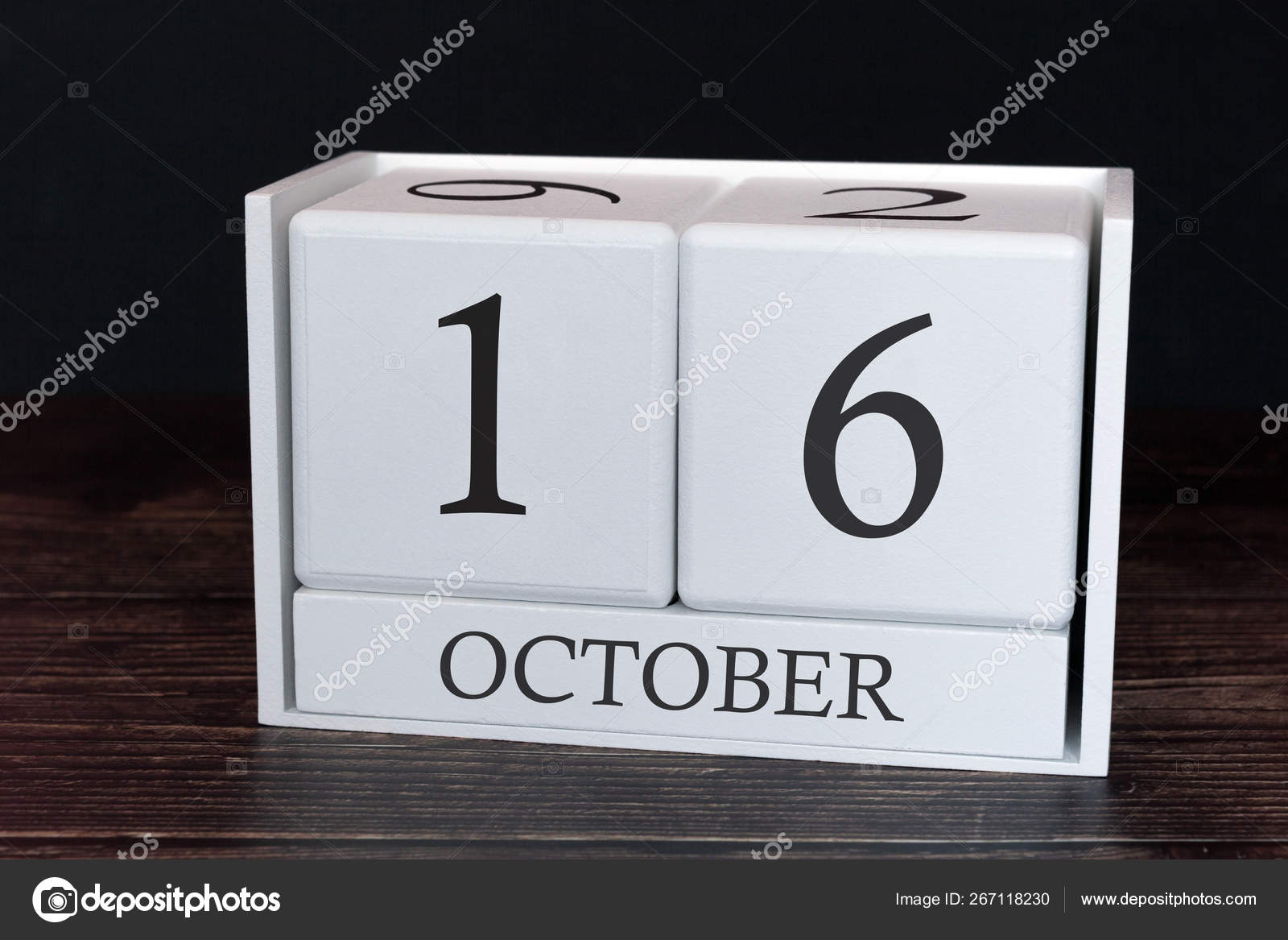 Business Calendar For October, 16Th Day Of The Month