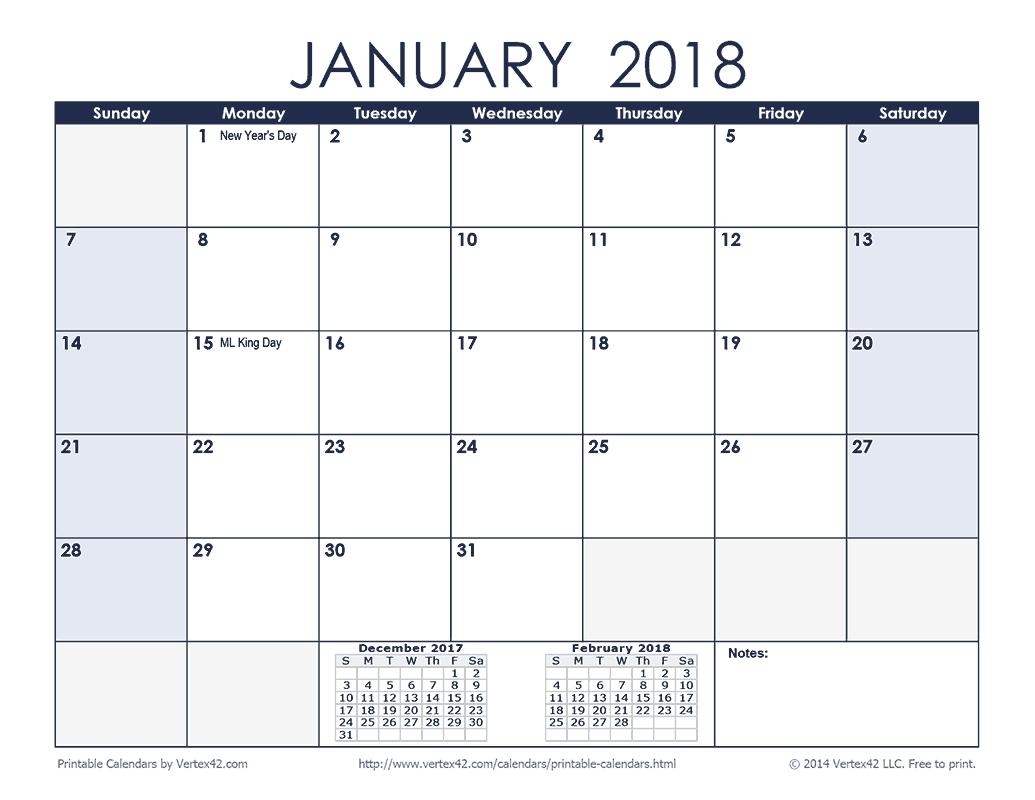 Calendar 2020 Vertex 42 | Month Calendar Printable