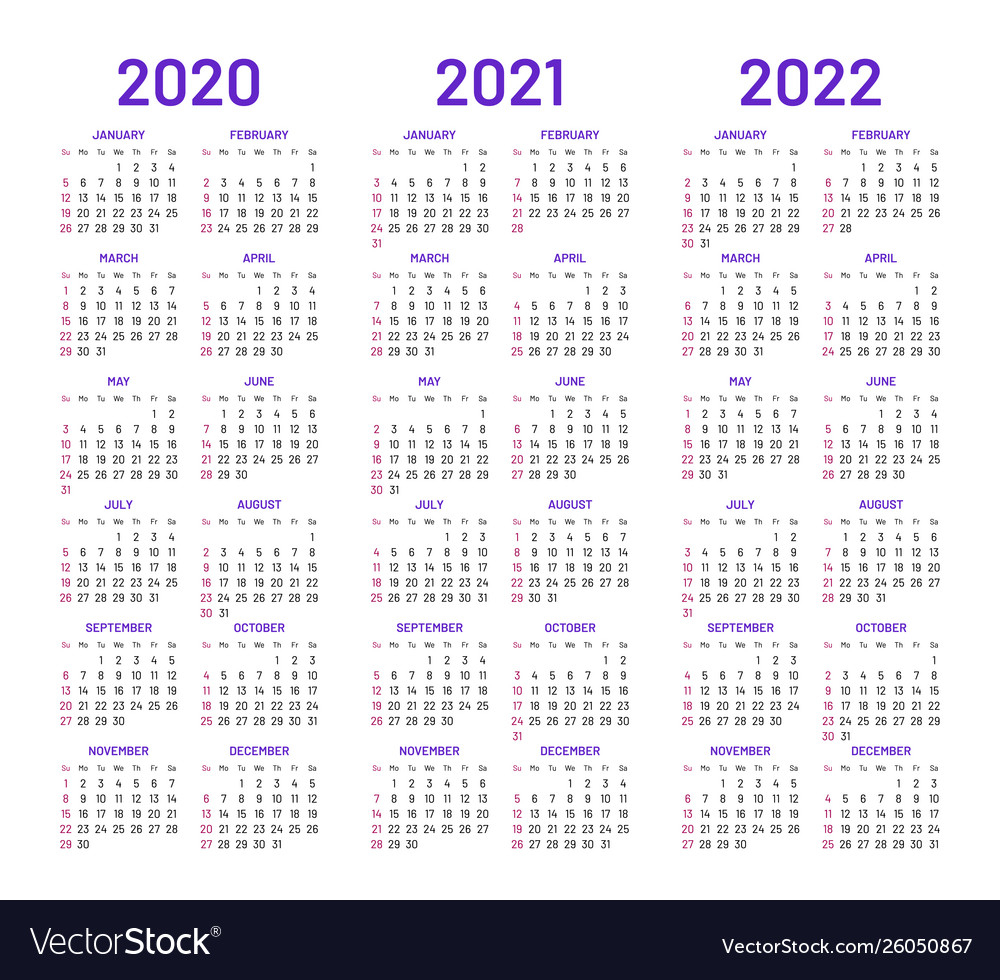 Collect 2 Year Pocket Calendar 2020 2021 | Calendar ...