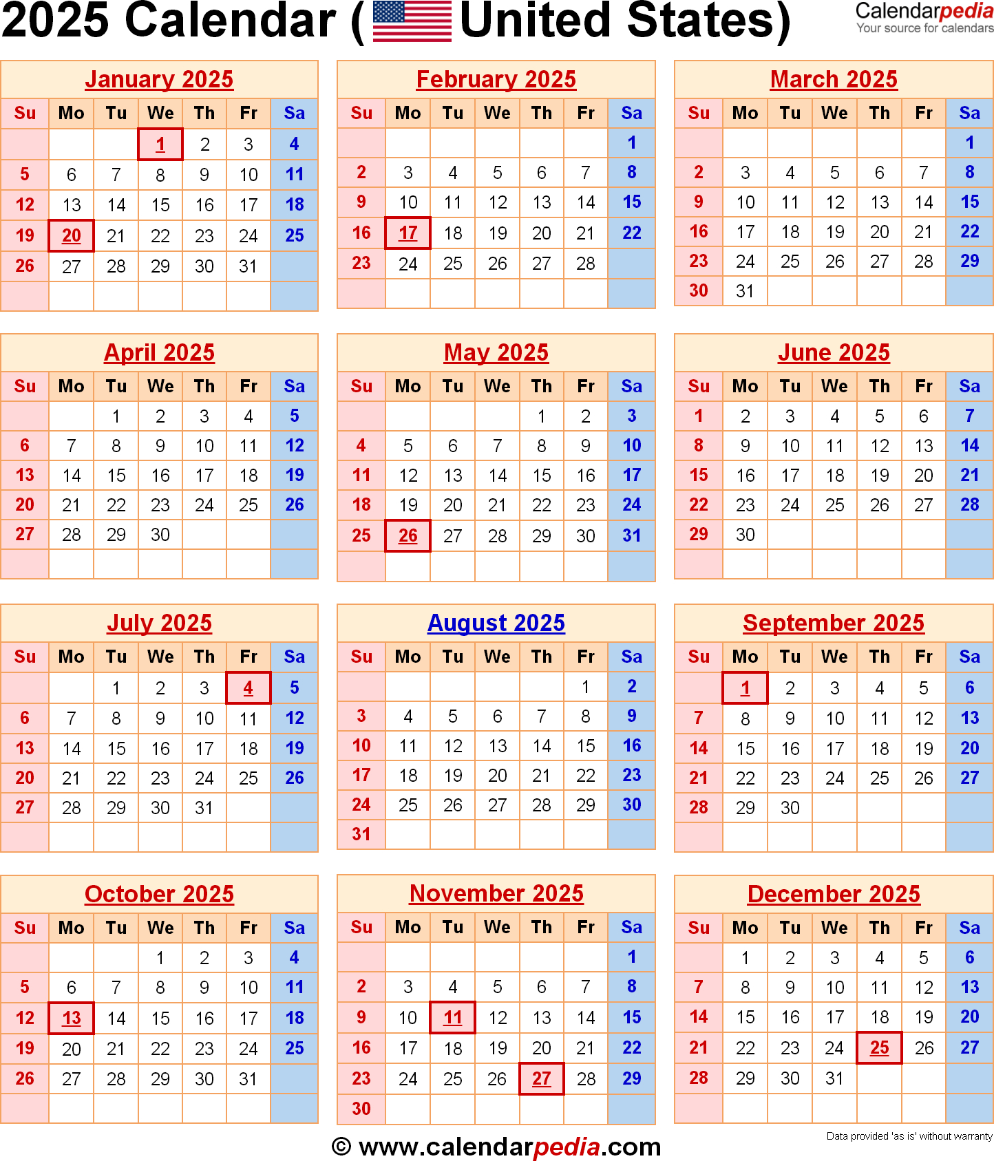 Calendars Are Us - Togo.wpart.co