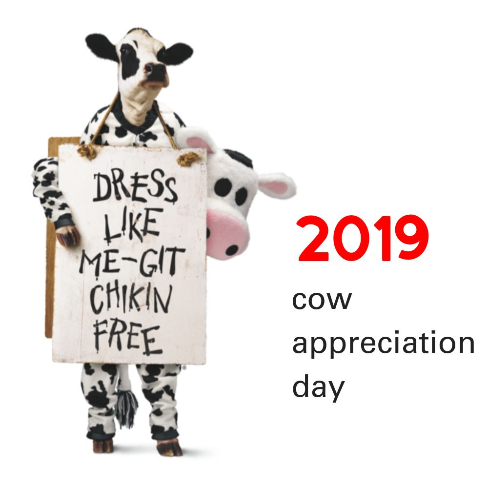 Chick-Fil-A Cow Appreciation Day 2019: July 9Th :: Southern