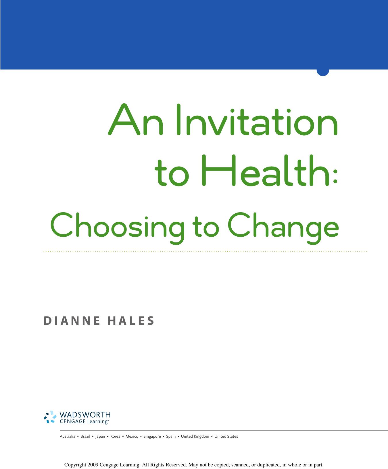 Choosing To Change | Manualzz