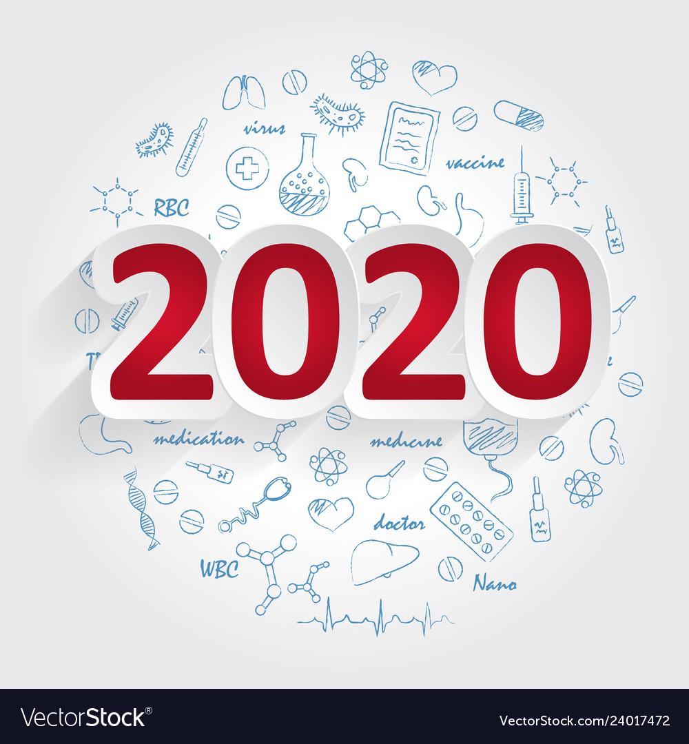 Creative Design Ideas Concept 2020 Calendar Cover