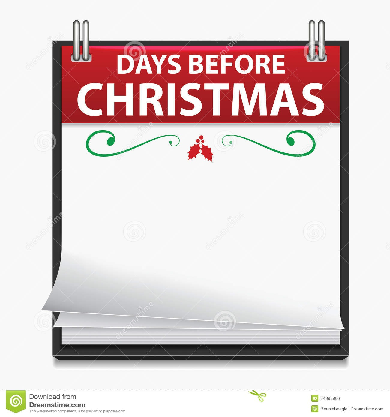 Day Countdown Calendar - Togo.wpart.co