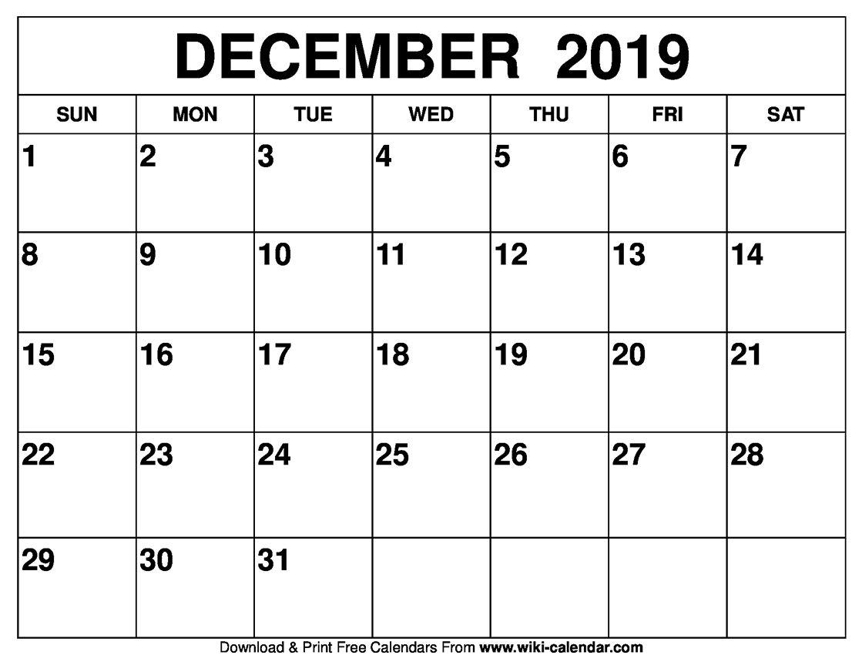 December 2019 Calendar #december2019Calendar