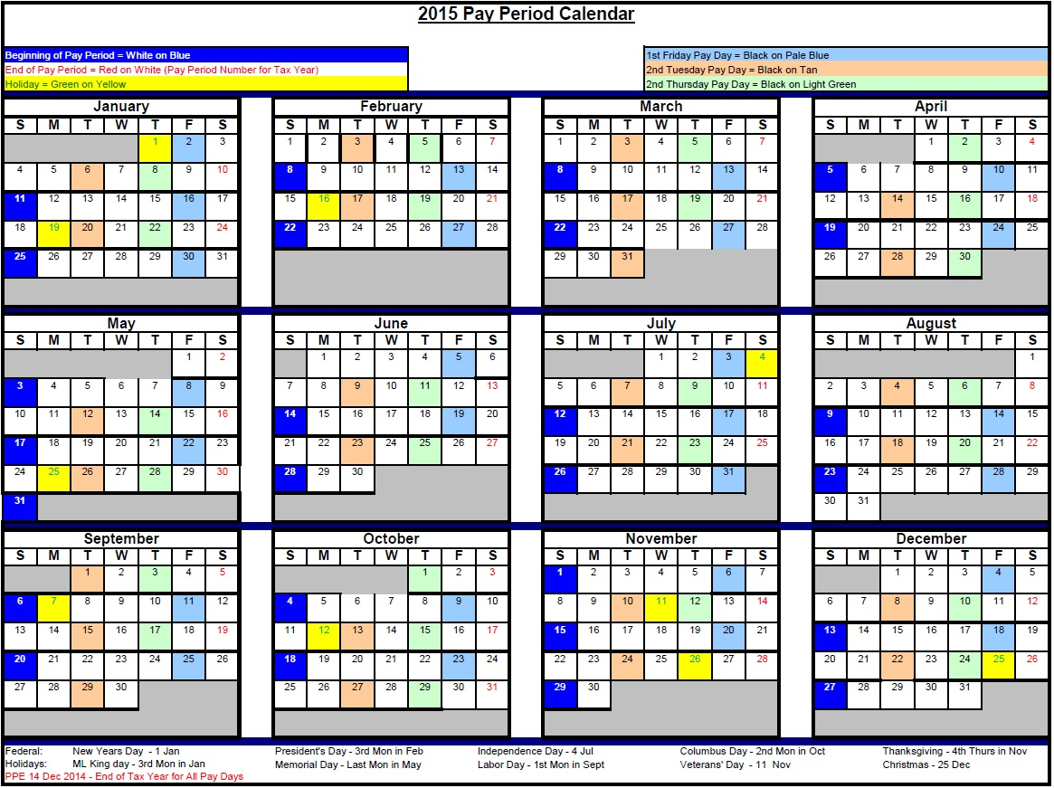 Department Of State Payroll Planning Schedule 2020 | Payroll
