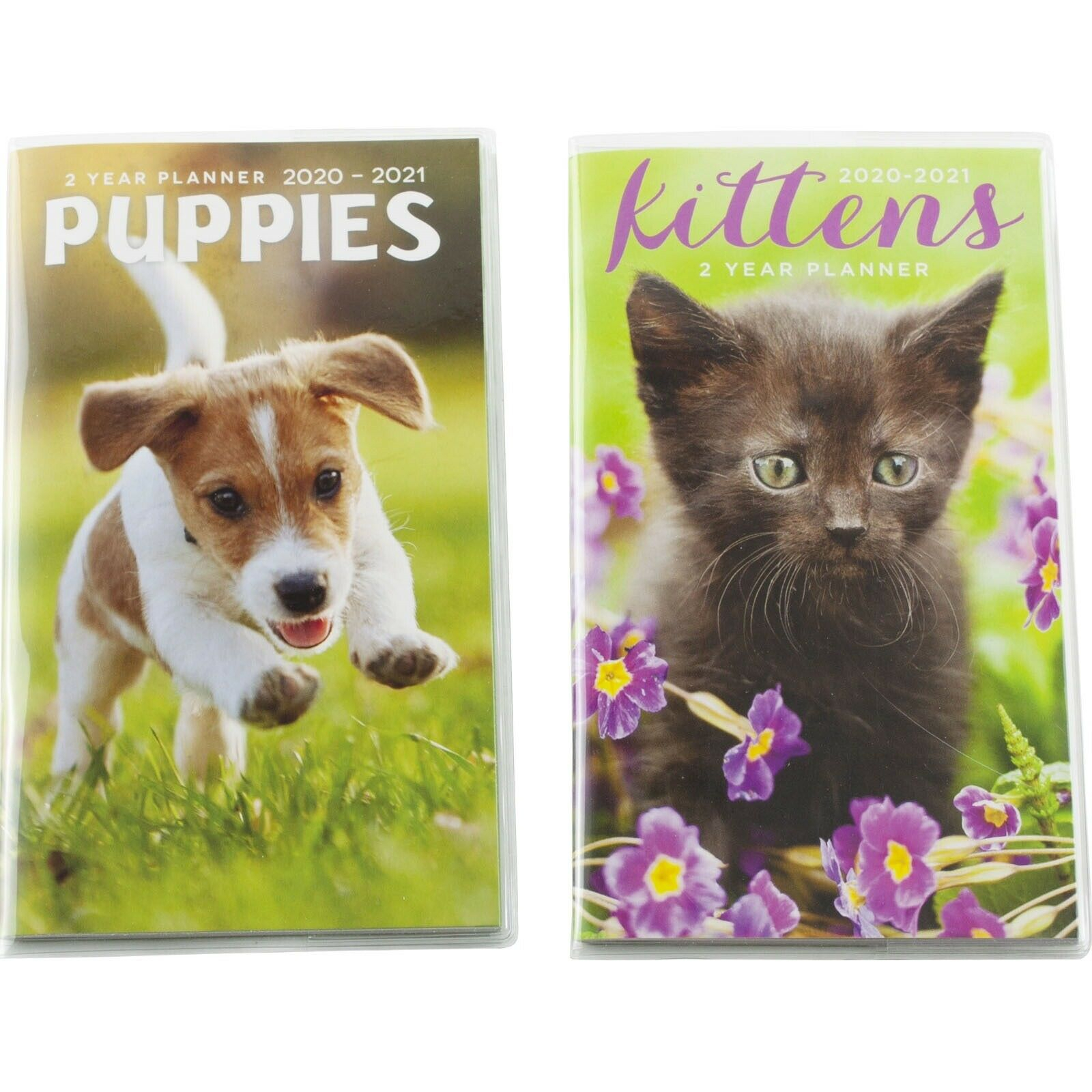 Details About Kittens Cats Puppies Dogs 2020 2021 Twoyear Monthly Pocket  Mini Planner 3.75X6.5