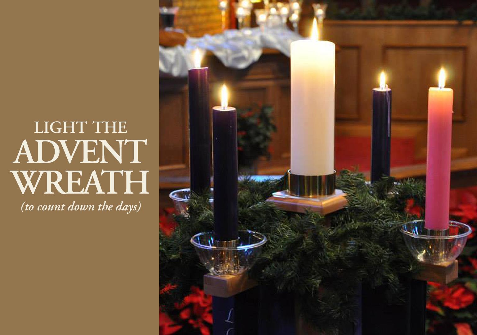 Discipleship Ministries | Advent Candle Lighting Liturgy 2019