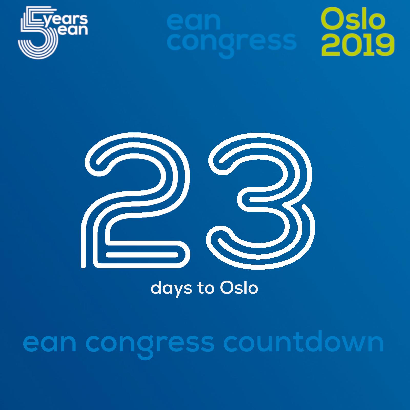 Ean Congress Countdown – 23 Days To Oslo | Eanpages