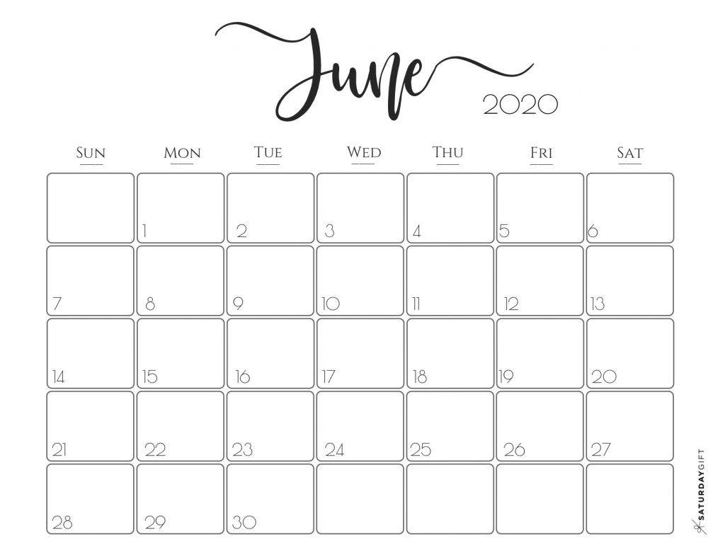 Elegant 2020 Calendar {Free Printables}   Free Printable