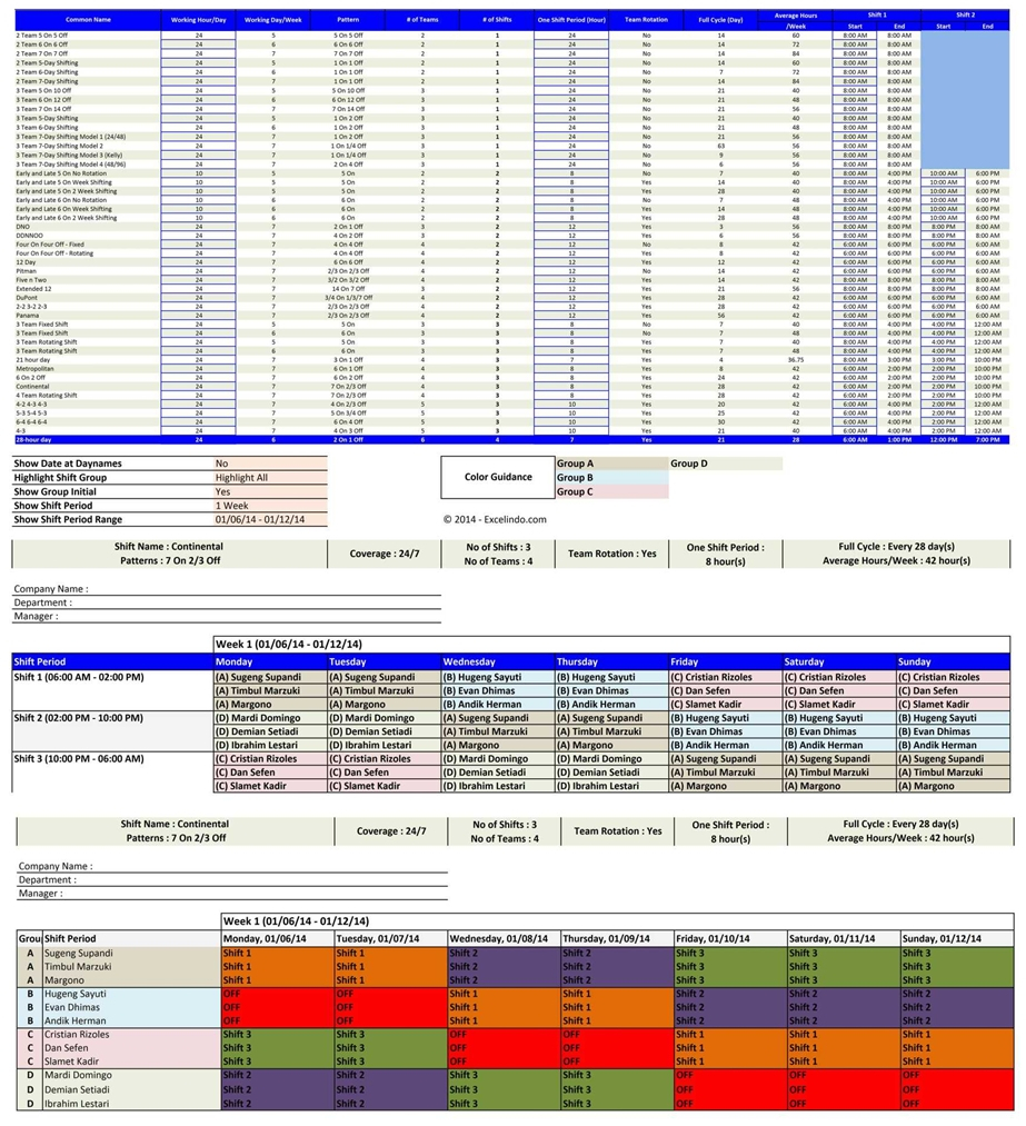 Employee Schedule Maker