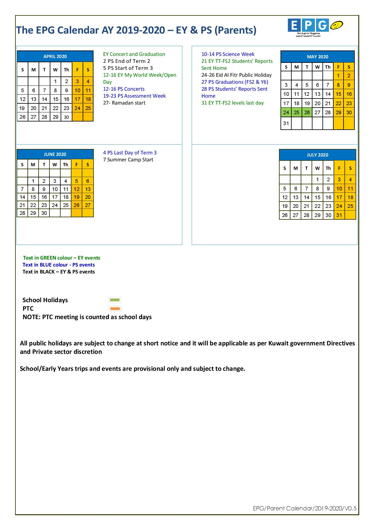 Epg-School-Calendar-Ay-2019-2020-V0.5-Parents-Page-002 - Epg