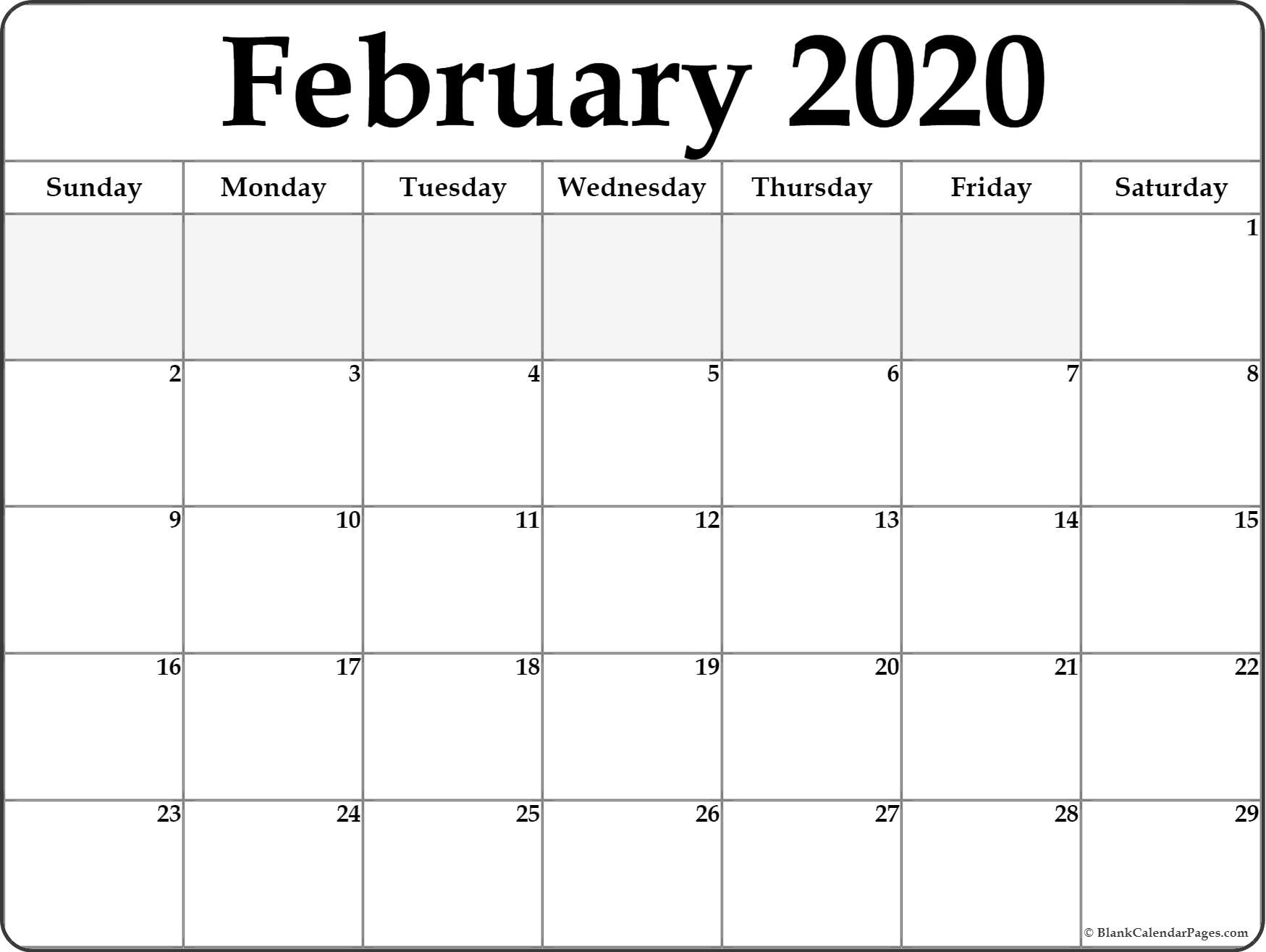 February 2020 Calendars Page - Saves.wpart.co