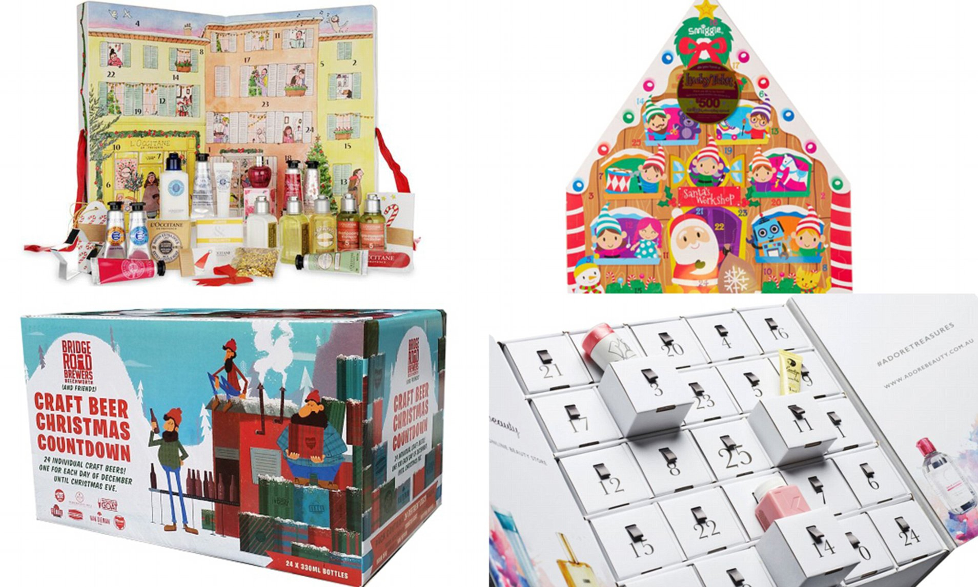 Femail Reveal Chocolate-Free Advent Calendars To Countdown