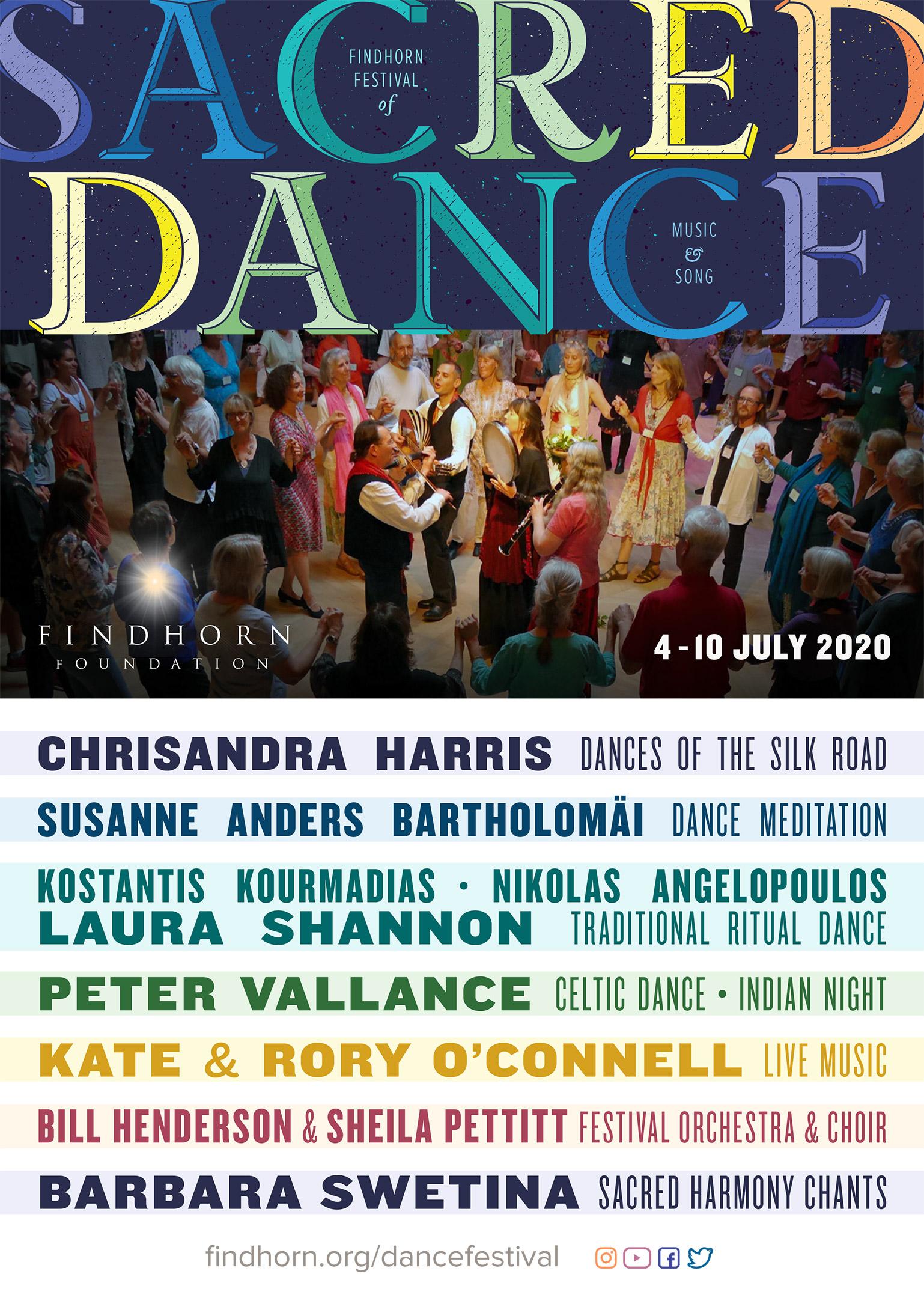 Festival Of Sacred Dance, Music & Song 2020 - Findhorn