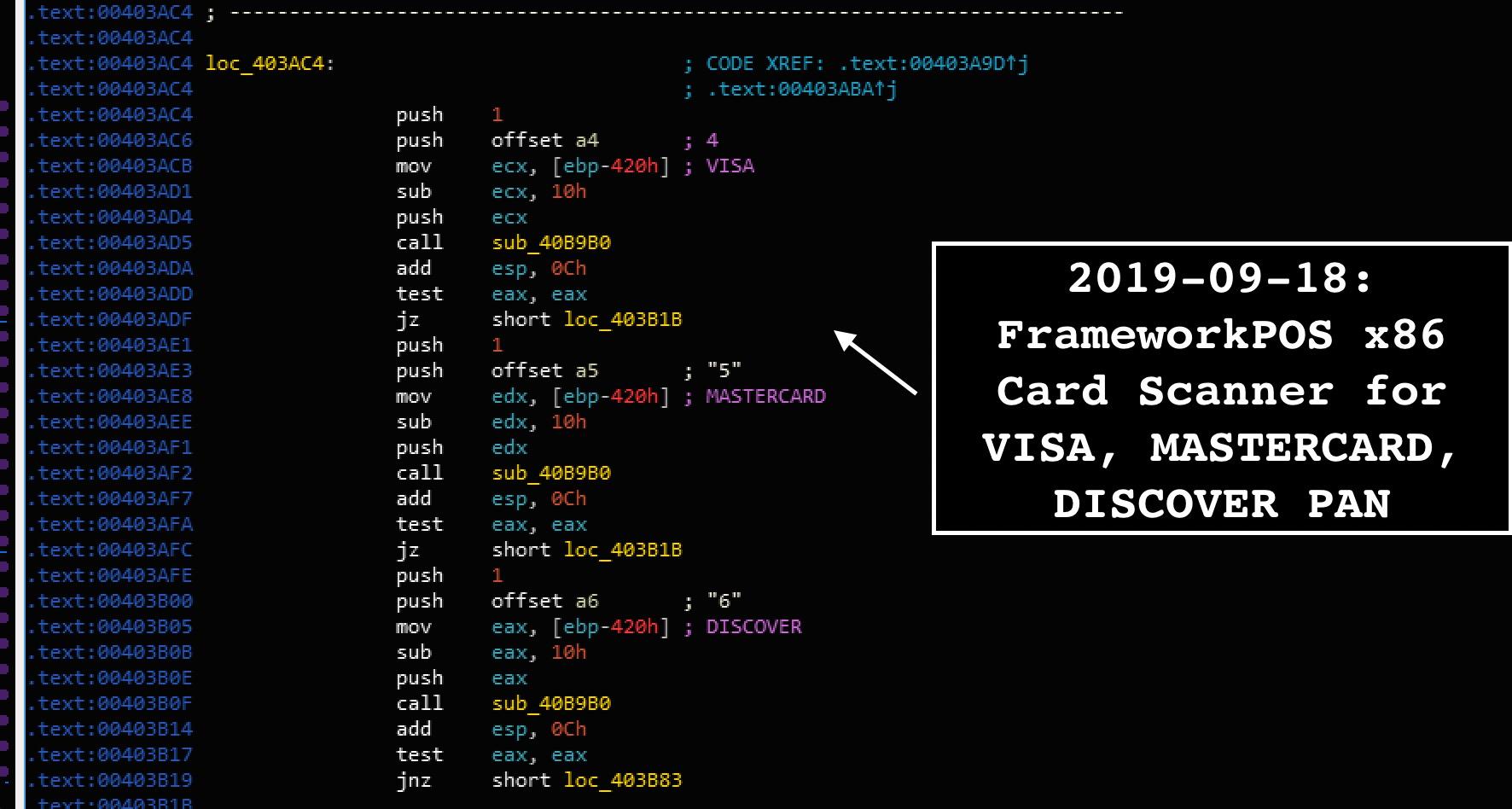 "Fin6 ""Frameworkpos"": Point-Of-Sale Malware Analysis"
