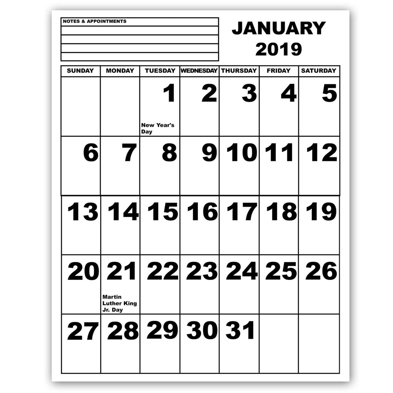 Free Calendar Templates For The Blind - Calendar Inspiration