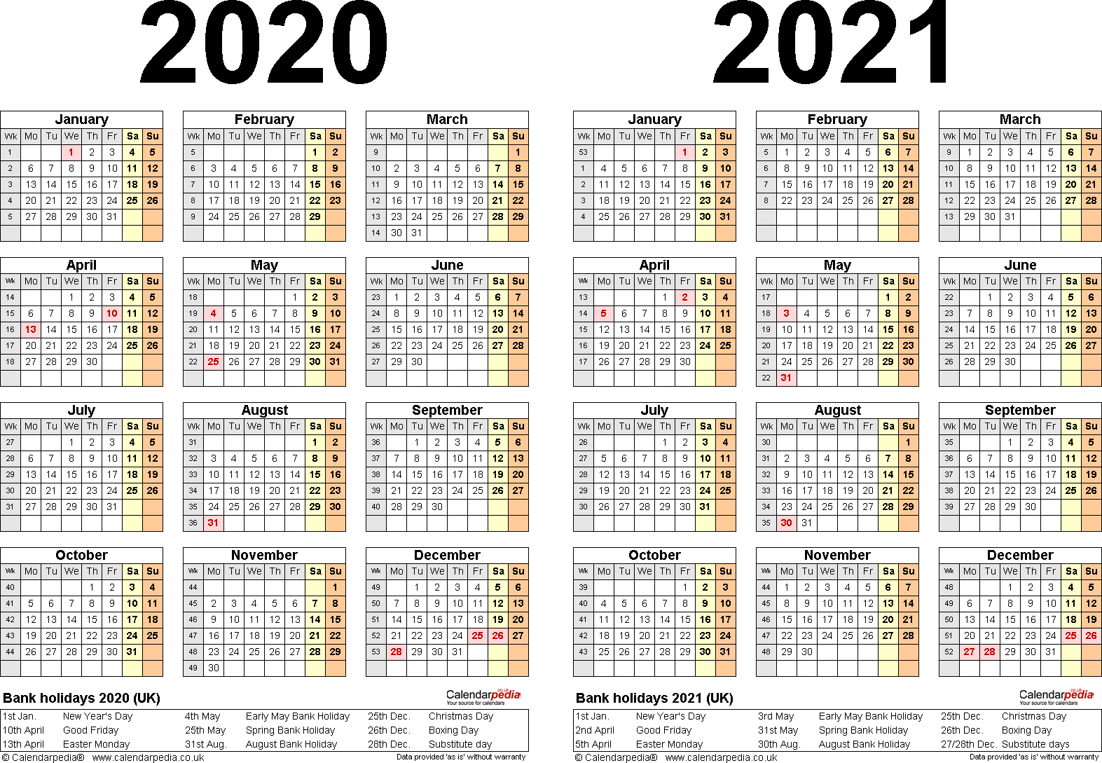 Free Printable Calendars And Planners 2019 2020 2021 2022