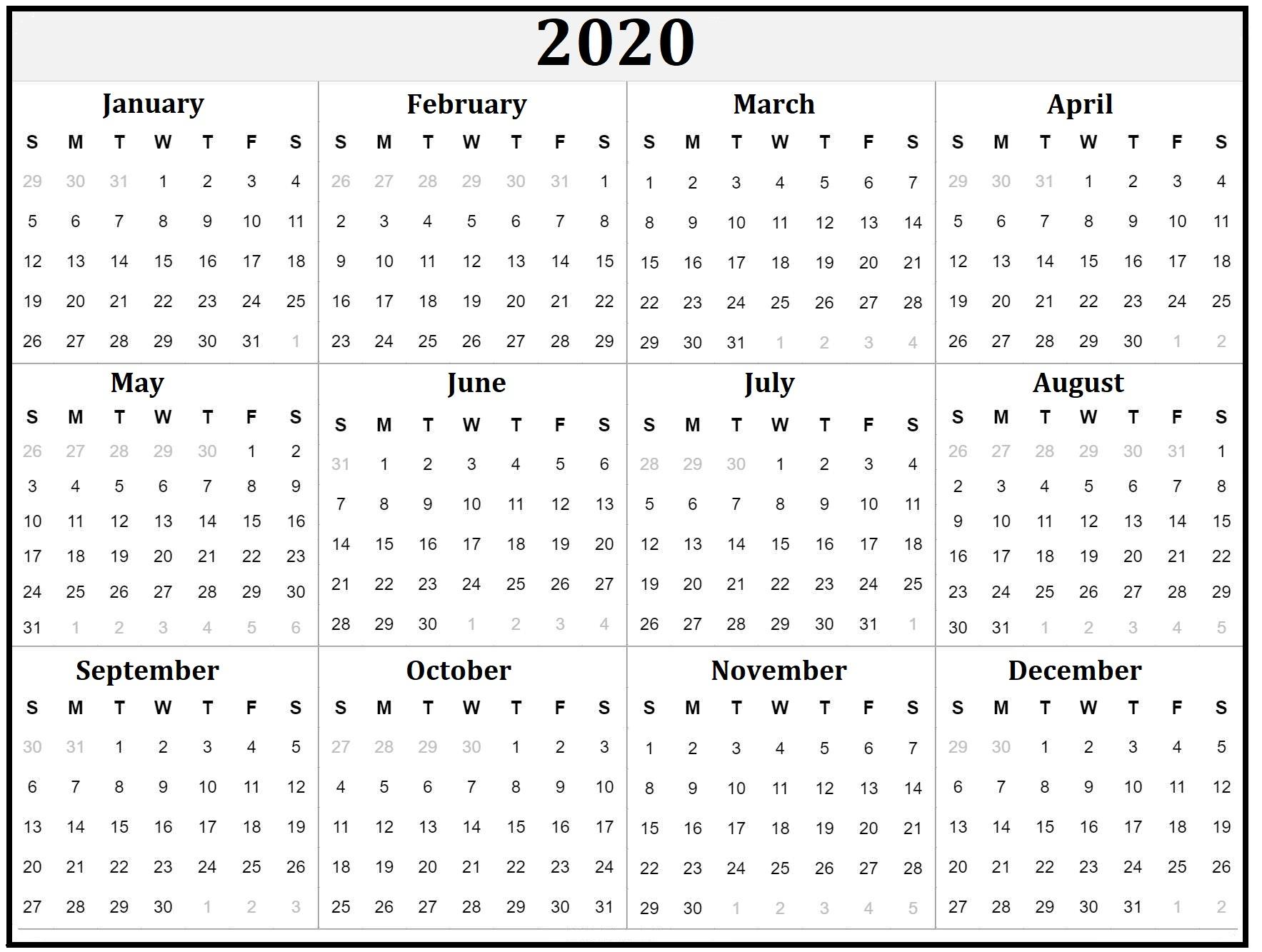 Free Printable Calendars & Holidays - Calendar-Kart