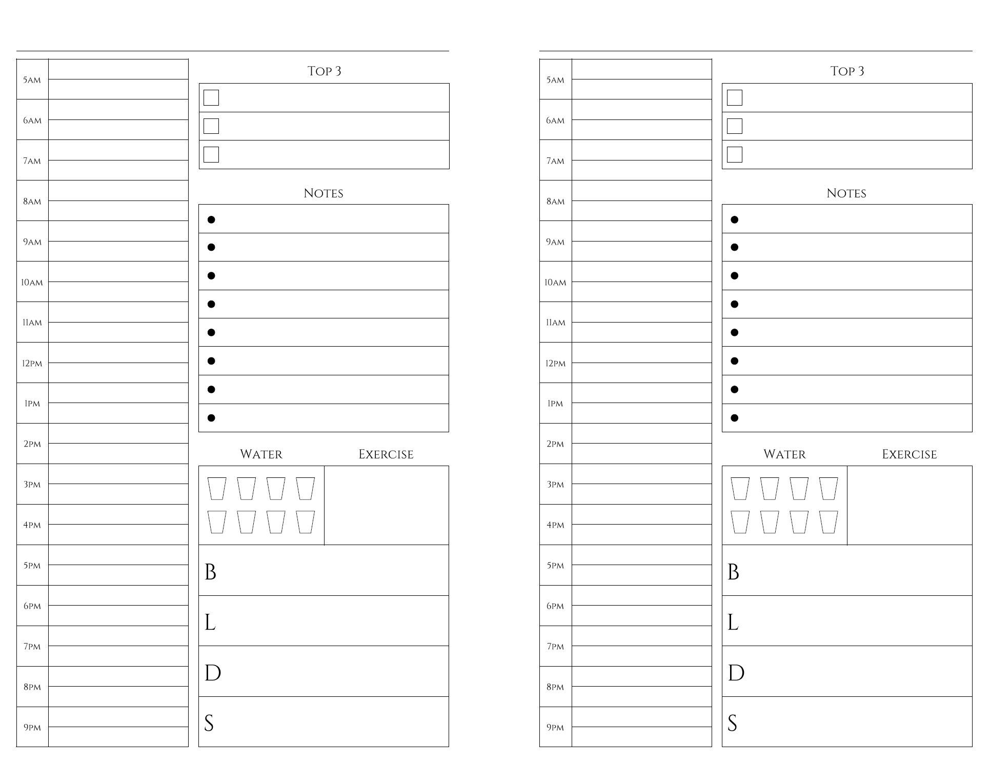 Free Printables | Weekly Planner Printable, Monthly Planner